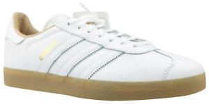 Adidas Originals Gazelle Sneaker Turnschuhe weiß Leder BB5503 Gr. 40 2/3 NEU