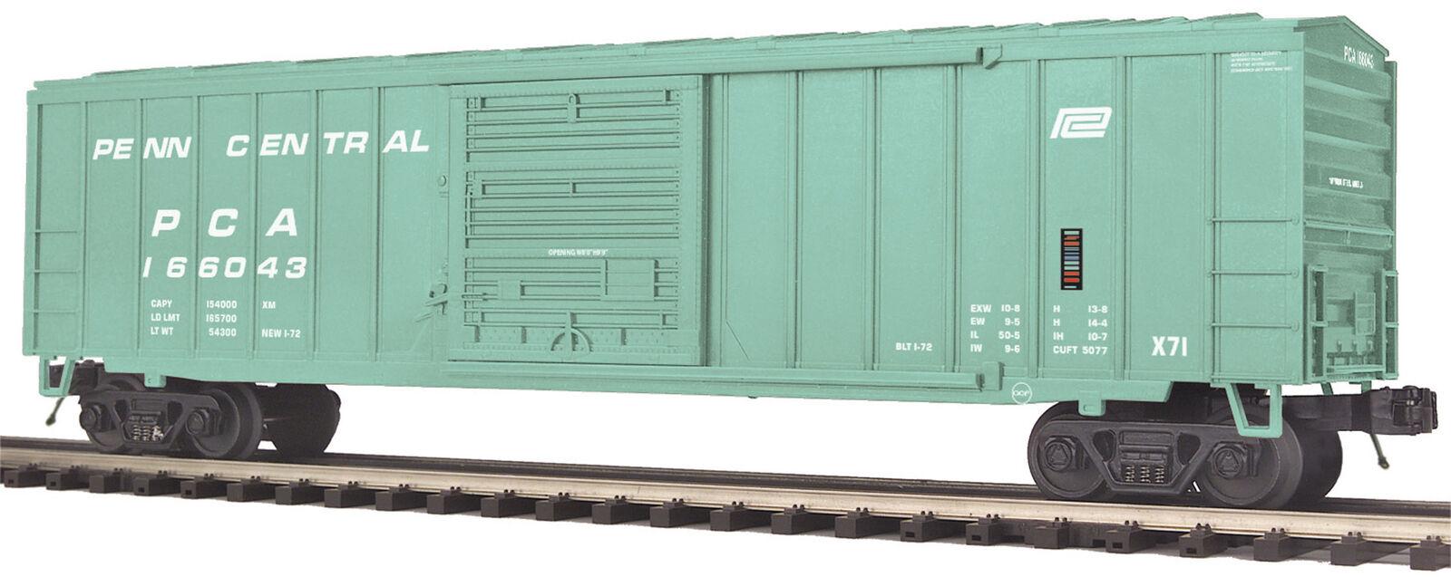MTH Premier O Trains Penn Central 50' Box Car 20-93648