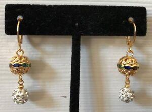 Image Is Loading Womens Earrings Fancy Ear Jewelry Bollywood Indian Style