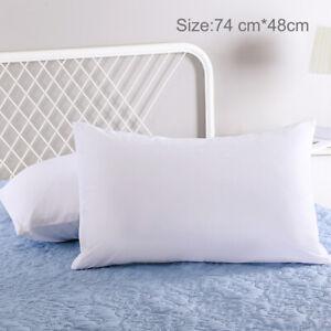2//4//6//8pcs Anti-Allergy Pillow Protectors 100/% Cotton Anti-Bacterial Pillowcases