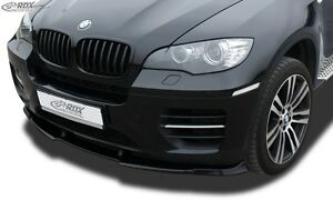 Front Spoiler Lip Spoiler Extension Splitter Bmw X6 E71 Incl M50