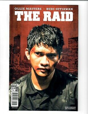 THE RAID #2 OCT 2018 TITAN COMIC.#109906D*9