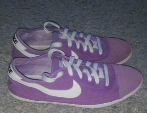 Details zu NIKE Flash Fin Capri sneaker Gr:39 US:6,5 325011 500 schuhe violet pop leinen