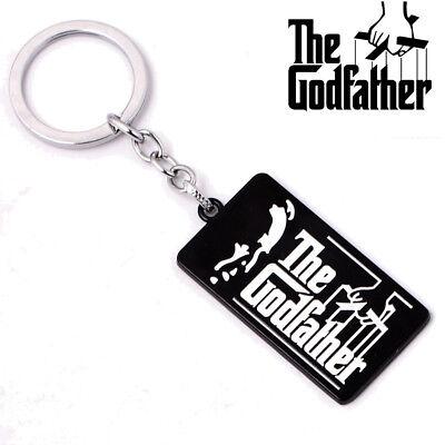 The Godfather Il Padrino Keychain Portachiavi Logo Official Merchandise Squisita Arte Tradizionale Del Ricamo