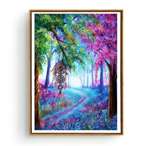 Vollbohrer Diamond Painting DIY 5D Diamant Full Malerei Strass Bilder Kunst