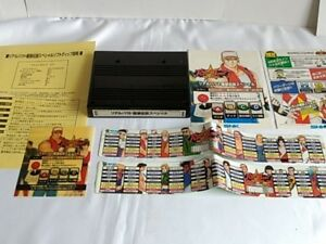 REAL-BOUT-Fatal-Fury-Special-RBS-NEOGEO-MVS-Cartridge-Instruction-card-set-A