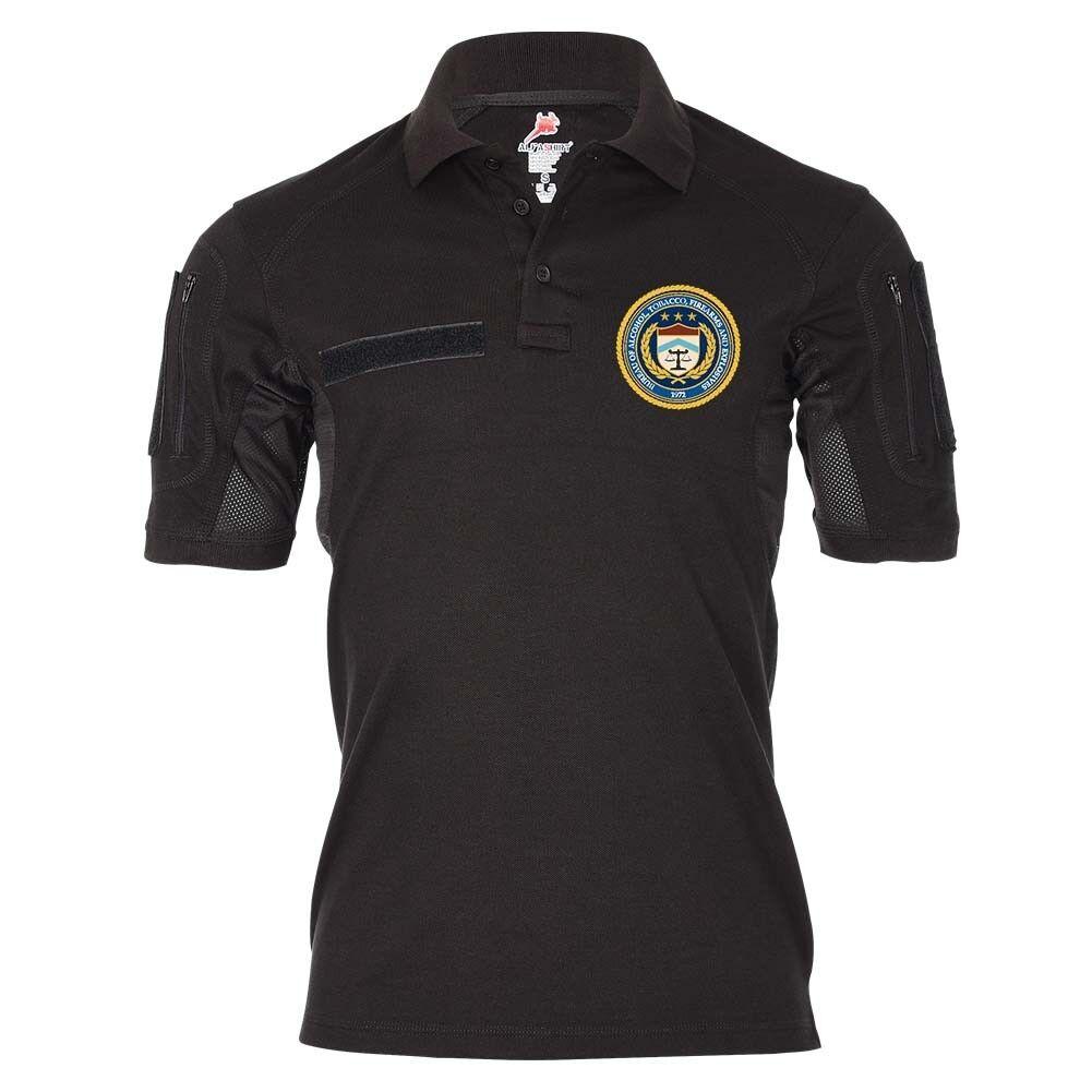 Bureau Alcohol Tabacco Firearms and Explosives Tactical Poloshirt Police  23958