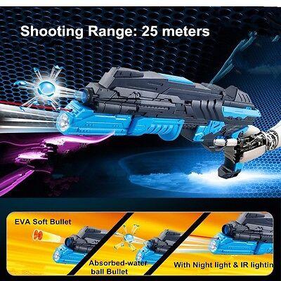 Nerf Gun Strike Darts Elite Dart Toy 1 Rifle Water Crystal Bullet Light New Gift