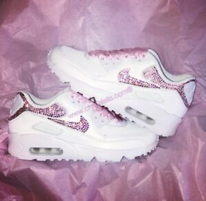 Nike Air Max 90 Made with SWAROVSKI® Crystals COLOR: Pink