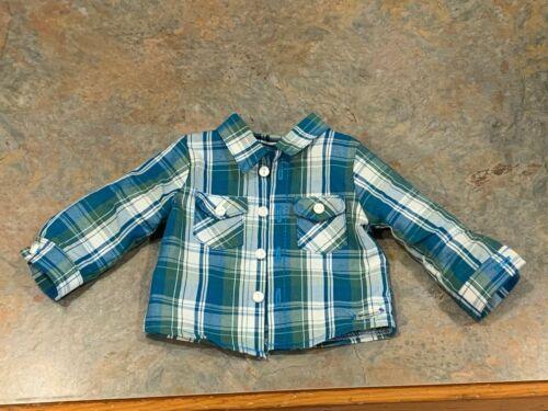 "American Girl 18/"" Doll Retired Tenney Friend Boy Logan Meet Outfit Shirt ONLY"