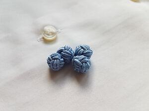Premium Seidenknoten Manschettenknöpfe hellblau cufflinks silk knots light blue - Kufstein, Österreich - Premium Seidenknoten Manschettenknöpfe hellblau cufflinks silk knots light blue - Kufstein, Österreich