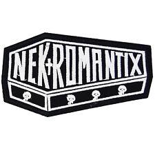 Nekromantix Iron On Patch Punk Sew Psychobilly Rockabilly Music Logo Jacket