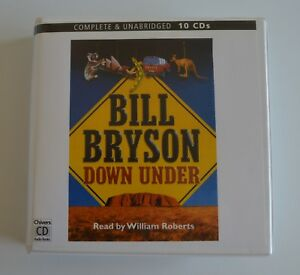 Down-Under-by-Bill-Bryson-Unabridged-Audiobook-10CDs