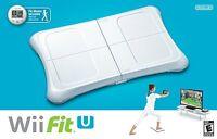 Nintendo Wii Fit U Balance Board, Game & Fit Meter Accessory Bundle