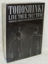 TOHOSHINKI 5th LIVE TOUR 2012 TONE Taiwan Ltd 3-DVD(Dong Bang Shin Ki TVXQ)