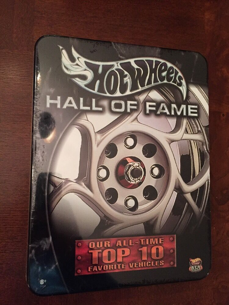 Hot Wheels Hall Hall Hall Of Fame Top 10 Favorite Vehicles Die Cast 1 64,Sealed,MISP (B58) e787ba