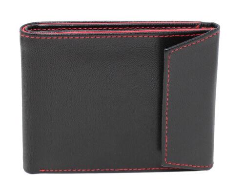 StarHide Mens RFID BLOCKING Designer Flip UpTwin ID Pocket Leather Wallet 620