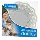 48 Assorted White Paper Doilies for Cakes Party Celebration