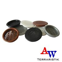 Lüftungsgitter für Terrarien - in 4 verschiedenen Farben und 2 Ausführungen