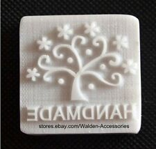 "8001 Handmade Tree Resin Soap Stamp Seal Soap Mold Mould 1.97""X1.97"""