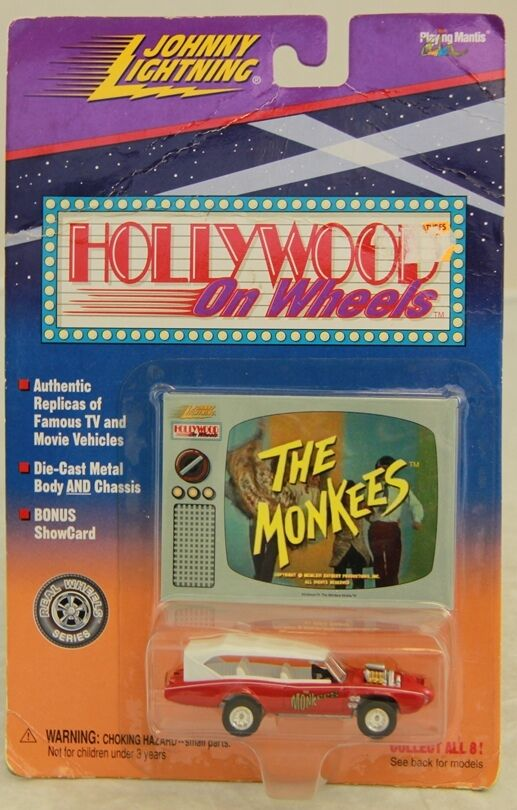 THE MONKEES   Monkeemobile Die Cast Carded Model (XP)