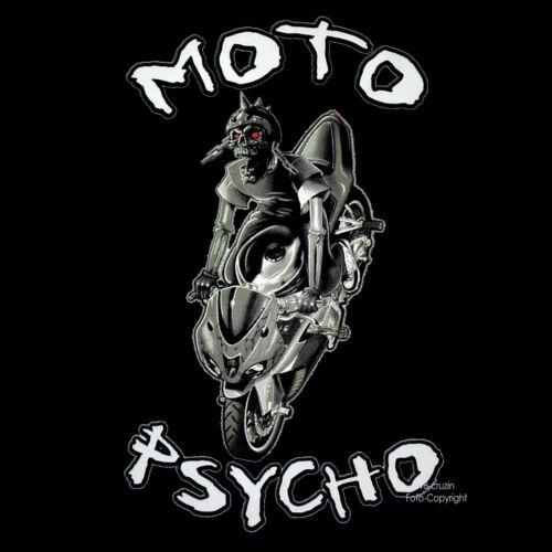 Biker T-Shirt Streetfighter Motorrad Fighter Rocker 4284 bl