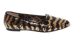 Gabbana Nuova Dolce Oro Balletto Basse S Con Scarpe Paillettes Etichetta Nero Otqw6tr