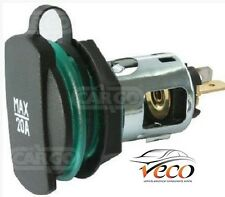 Universal Sigaretta Accendino POWER Auxillary Supply Socket 6/12/24 V 20A 160409