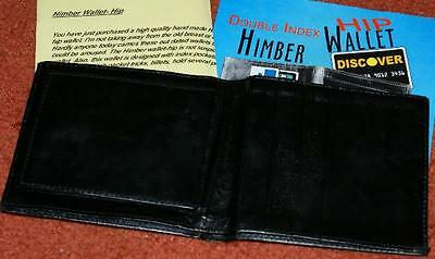 -one wallet TMGS Double Indexed Hip Wallet -like Heirloom wallet 12 outs