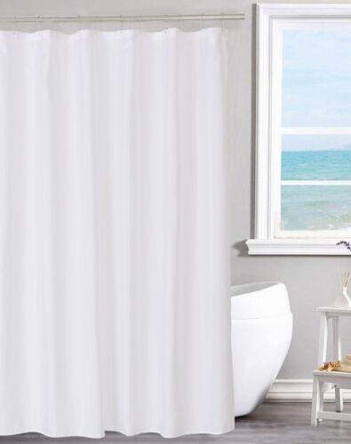 70 X 72 N/&Y Home Fabric Shower Curtain Liner Mildew Resist Water Repellant