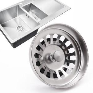 1 2pz filtro tappo bacino vasca lavello scarico rifiuti lavabo cucina ebay - Scarico lavello cucina ...