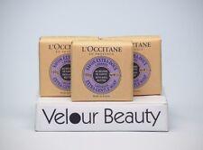 L' Occitane Shea Butter Lavender Extra-Gentle Soap 3.5 3 pcs