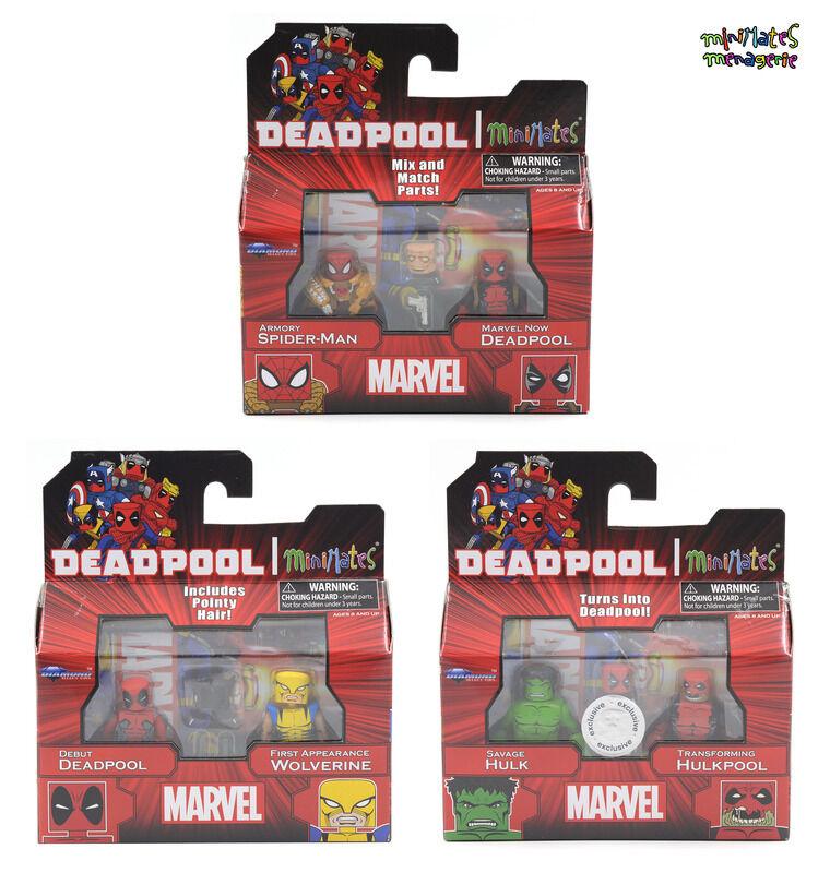 Marvel Minimates TRU Toys R Us Wave 22 Complete Set (Deadpool Wave)