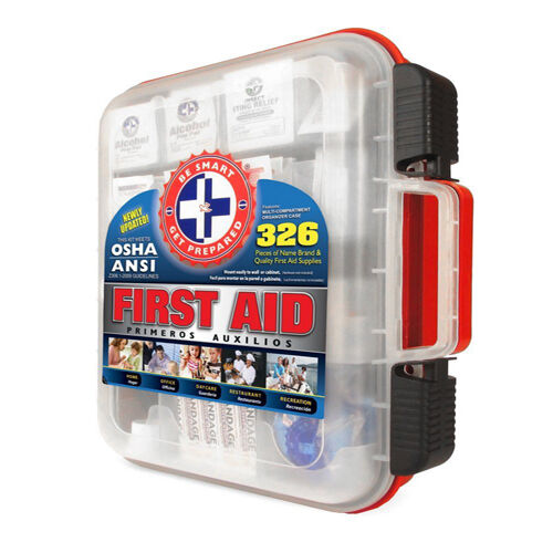 First Aid Case Survival Trauma Suture Kit Bug Out Bag Box Gear Medical  Meret Emt