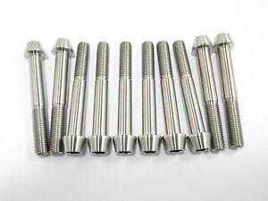2//5//8pcs M8 x 40 Titanium Ti Socket Cap Head Bolts Allen Hex Screw Grade 5