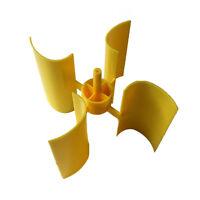 Mini Wind Turbine Blade Vertical Axis Micro-generator Blades Small 1Set