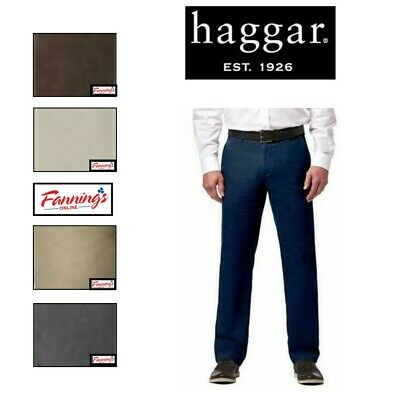 NEW E43 Haggar Men/'s Premium Stretch Suit Separate Pant Straight Fit VARIETY