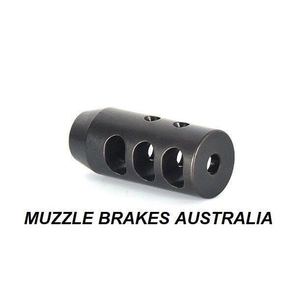 MUZZLE BRAKE .22 CAL TAIPAN 1 2''X 28 THREAD NEW LITHGOW 101 22LR
