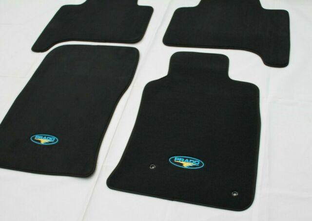 Carpet Floor Mats >> Genuine Toyota Prado 120 Series Set Of 4 Carpet Floor Mats 2002 2009 Auto