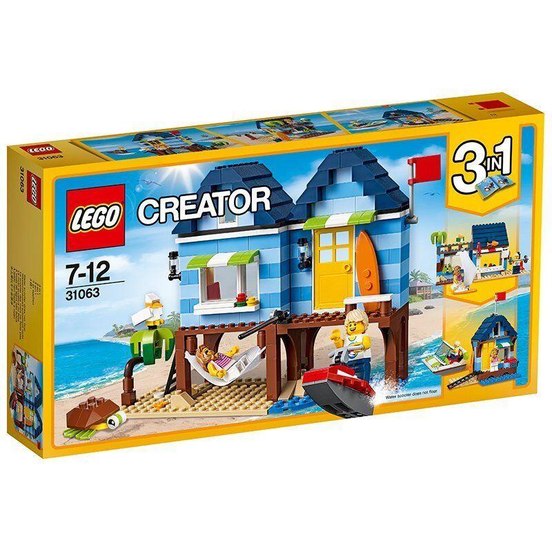 Lego Creator 31063 Vacaciones en la playa - New - Sealed