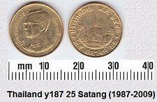 THAILAND 25 SATANG UNC COIN # 2102