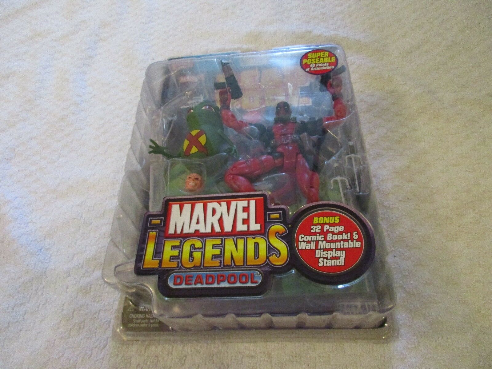 Toy Biz Marvel Legends Series VI 6 Deadpool Action Figure