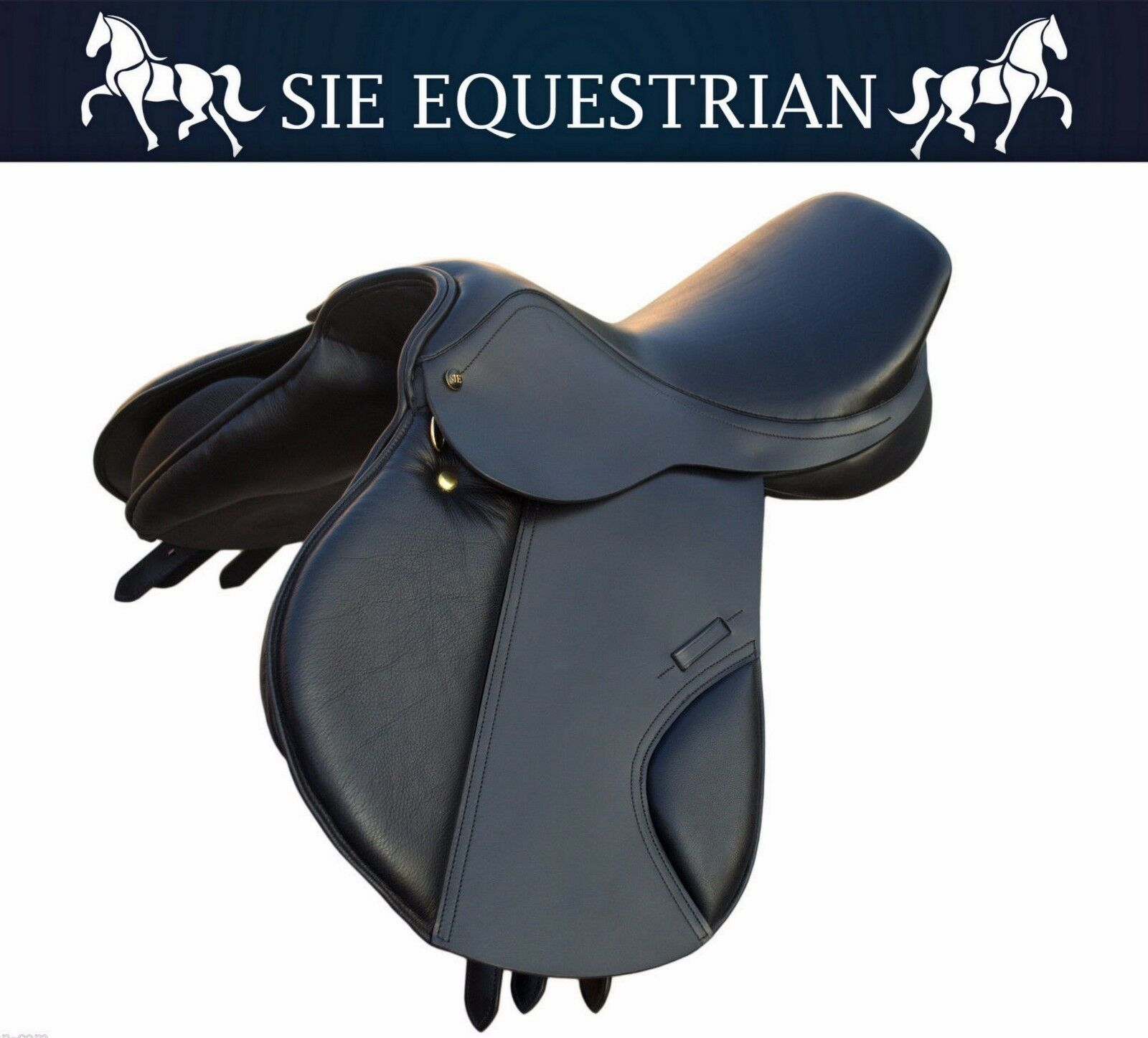 SIE Premium Leather English Event Leather Saddles with supersof  stirrup leathers  up to 42% off