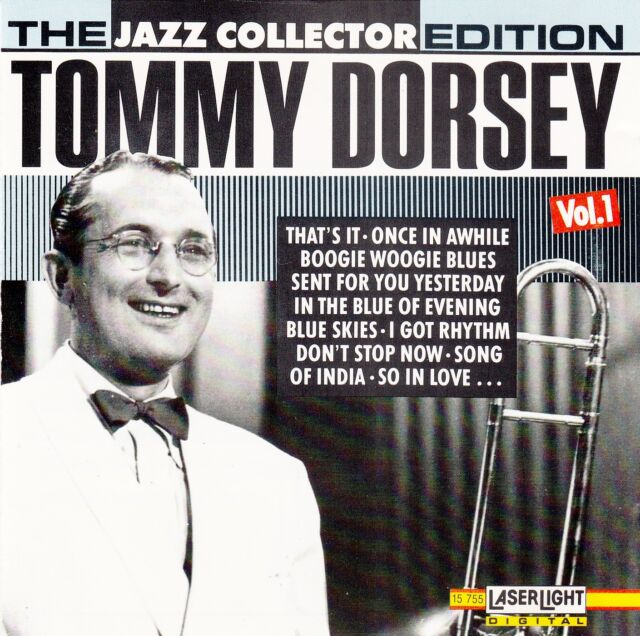 TOMMY DORSEY : TOMMY DORSEY VOL. 1 / CD