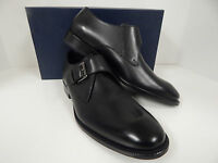 Cole Haan Williams Black Leather Monk Strap With Combination Soles-new