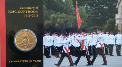 2011 Australia $1 UNC Centenary of Royal Military College Duntroon Perth Mint
