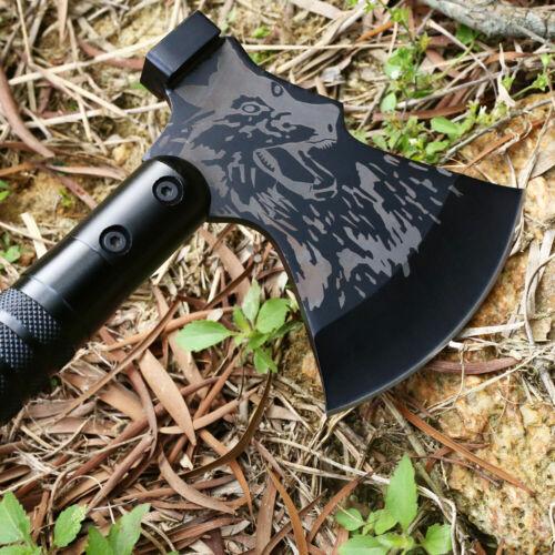 "Portable Survival Hatchet Camping Axe Hiking Sheath 22/"" Folding Multi-tool"