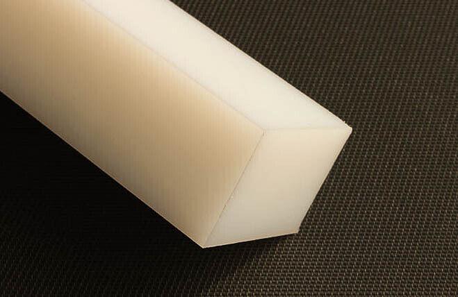 Plástico Pedazo Cuadrado pa 310x310x70mm blancoo Natural Quader Placa Rest Pieza