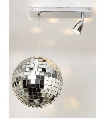 Adaptable Illuminate Frankie Rotating Disco Ball Light Fitting
