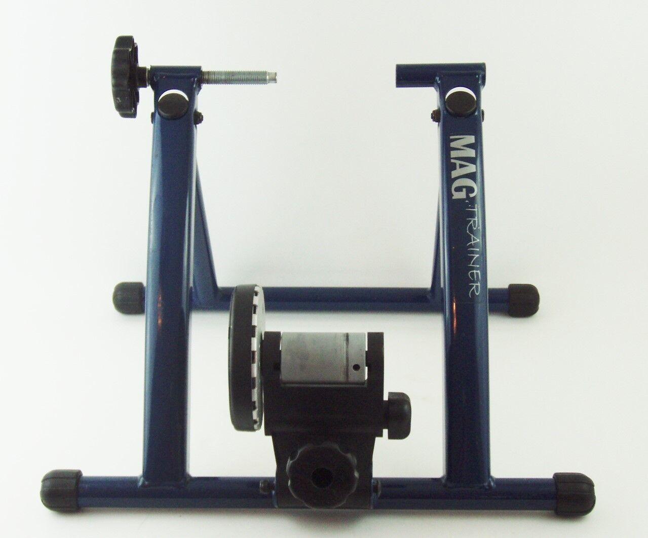 MAG TRAINER Indoor Portable Folding MAGNETIC Exercise Bike Trainer Resistance